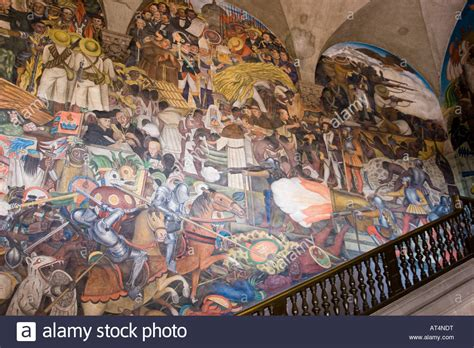 quot the history of mexico quot 1929 1935 diego rivera fresco mural west stock photo royalty free