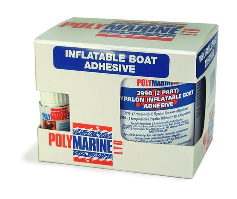 Inflatable Boat Adhesive by Polymarine Hypalon 2 Part Adhesive Inflatable Boat