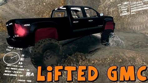 spintires mod review lifted gmc best truck so far