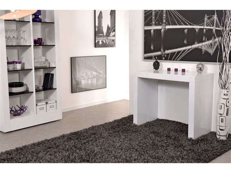 1000 ideas about console extensible blanc laqu 233 on console extensible table
