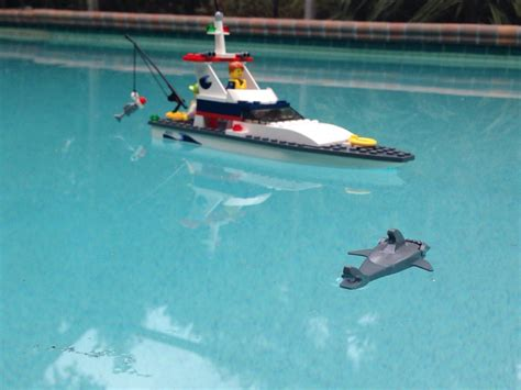 gave my a lego boat for the accompanying
