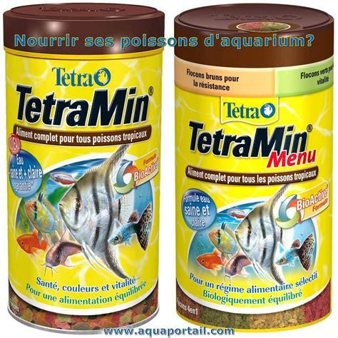 comment nourrir un poisson d aquarium