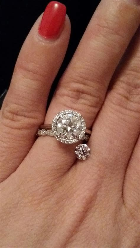 Anyone Have An L, M, Or N And Color Diamond? (pictures. Obnoxious Wedding Rings. Slate Grey Rings. Patterned Wedding Rings. Rahu Rings. First Communion Rings. Everyday Rings. Plain Wedding Band Engagement Rings. Hammered Metal Wedding Rings