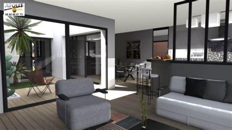 maison moderne avecpatio chaios