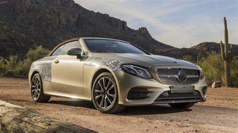 2018 Mercedes Eclass Cabriolet First Ride Making Of A