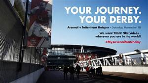 #MyArsenalMatchday for the north London derby   News ...