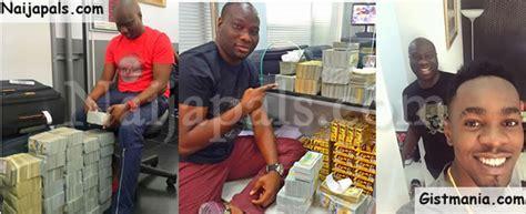 techiesng lagos big boy owner of mompha bureau de change ismaila flaunts 4million on ig