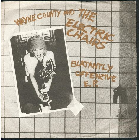 blatantly offenzive e p by wayne county the electric