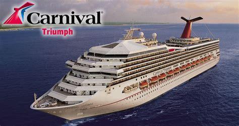 carnival triumph carnival cruise ship