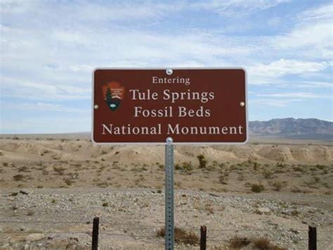 tule springs fossil beds national monument landmarks