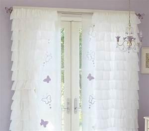 Kinderzimmer Gardinen Schmetterling : kinderzimmer ideen mit kindergardinen ~ Markanthonyermac.com Haus und Dekorationen