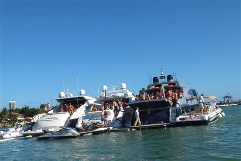 On A Boat Party by Boat Party In Miami Beach V Fashion World
