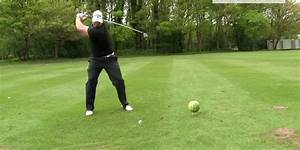Here's what happens when a pro golfer smashes a ball into ...