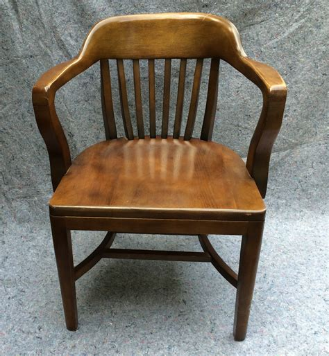 vintage bankers chair library chair boling chair