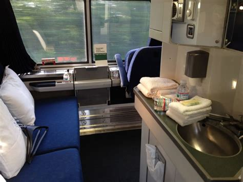 bedroom on amtrak s viewliner service on the eastern