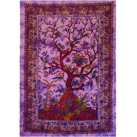 tenture indienne quot arbre de vie quot sur artiglobe