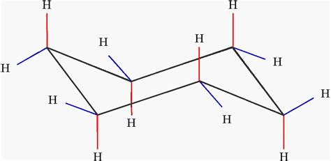 Chair Conformation Of Cyclohexane Ppt by File Cyclohexane Structure Png Wikimedia Commons