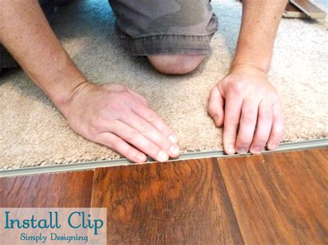 Armstrong Vct Tile Adhesive by How To Install Floating Laminate Wood Flooring Part 3
