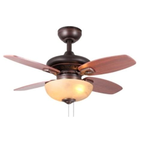 shop allen roth laralyn 32 in bronze indoor downrod or flush mount ceiling fan with light kit