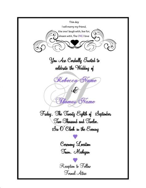 What To Put A Wedding Invitation Weddi On Tips For Writing