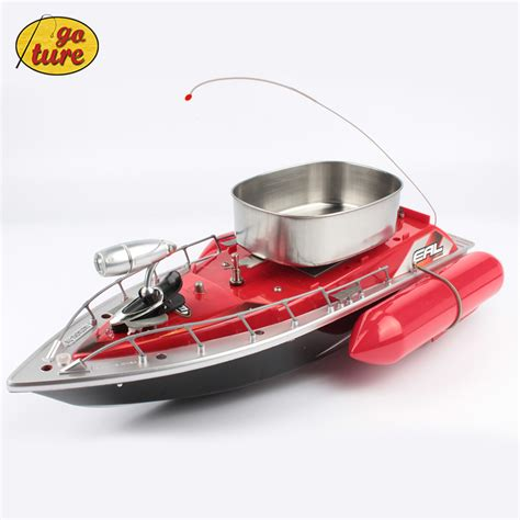 Rc Control Fishing Boat by 2015 New Goture Mini Rc Bait Fishing Boat 200m Remote Fish