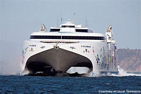 Catamaran Luxury Ferry by Natchan World Catamaran Ferry Ship Technology