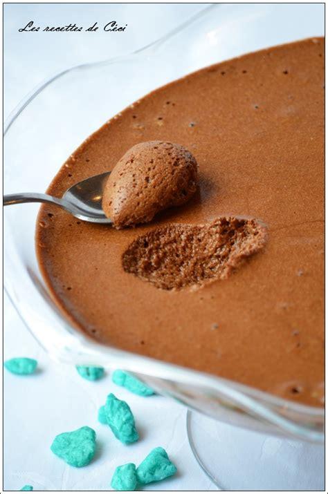mousse au chocolat au caramel au beurre sal 233 les recettes de c 233 ci
