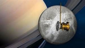 News | Saturn Spacecraft to Buzz Icy Moon Dione June 16