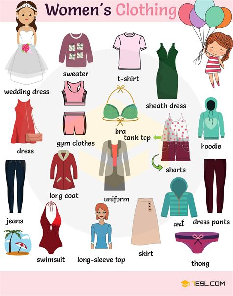 Learn Clothes English Vocabulary With Pictures  Ethiopian Movies & Drama