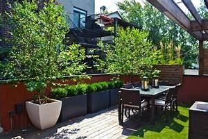 Kleine Terrasse Gestalten : terrasse und balkon mit pflanzen und blumen gestalten ~ Markanthonyermac.com Haus und Dekorationen
