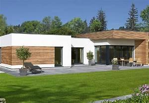 Haus Bungalow Modern : avantgarde 126 f baufritz fertighaus ~ Markanthonyermac.com Haus und Dekorationen