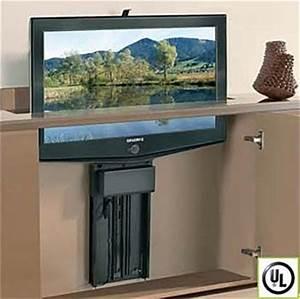 Sideboard Tv Versenkbar : 25 best ideas about hidden tv on pinterest tv storage hidden tv cabinet and living room storage ~ Markanthonyermac.com Haus und Dekorationen