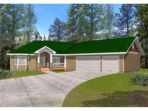 8 Star Home Designs : Country House Plans With Angled Garage