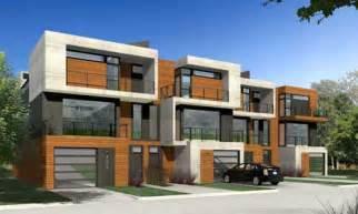 modern duplex townhouse plans studio design gallery best design