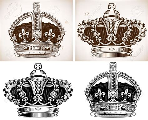 32+ King Crown Tattoos Designs