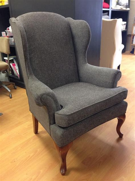 Grey Wingback Chair Slipcovers by 25 Best Ideas About Wing Chairs On Blue