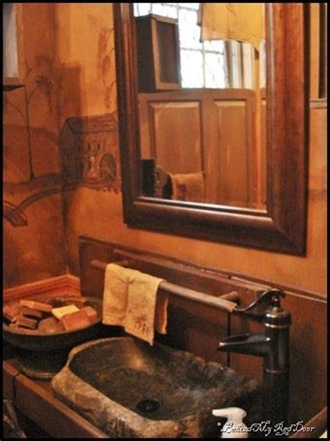 primitive bathroom vanities primitive bathroom ideas