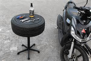 How To Make A Tire Coffee Table
