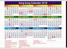 2019 Calendar Hong Kong 2018 Calendar Hong Kong Merry