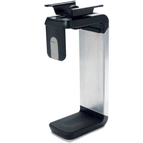 humanscale cpu600 desk mount cpu holder