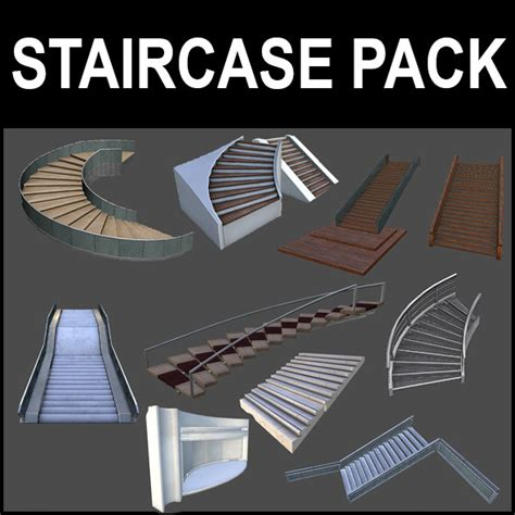 stairs pack by arx f 3docean