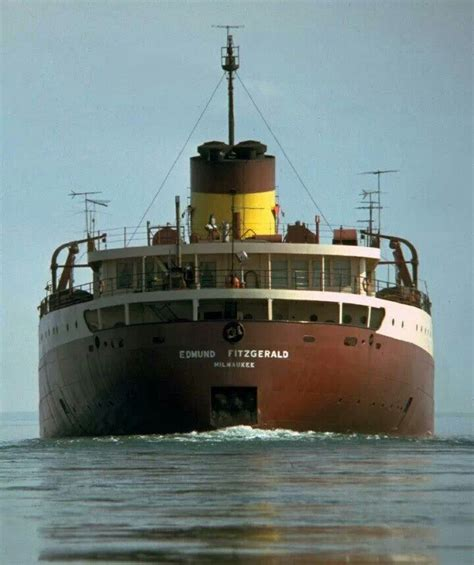 on november 10 1975 the iron ore carrier ss edmund fitzgerald sank in lake superior all 29
