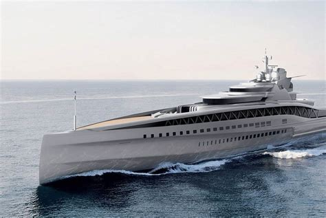 Huge Catamaran Yacht by Fincantieri Mega Yacht