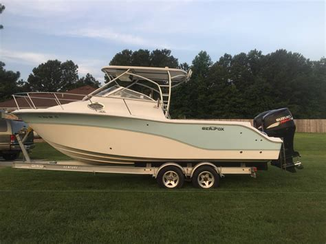 Used Sea Fox Boats For Sale In Texas by Used Power Boats Walkaround Sea Fox Boats For Sale In
