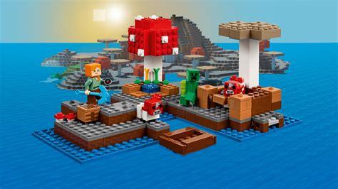 Amazoncom LEGO Minecraft The Mushroom Island 21129 Toys