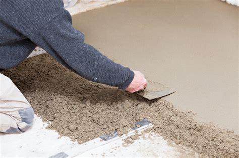 comment realiser une dalle beton pour terrasse 12 faire une chape toutes les 233tapes pour
