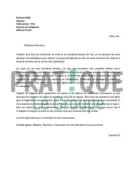 mod le lettre de motivation chef d quipe
