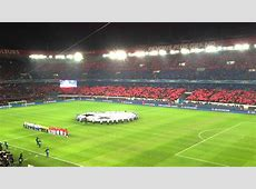 Hymne Champions League Paris SG vs FC Valence YouTube