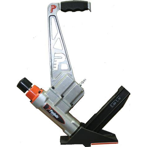 paslode 2 in 1 pneumatic hardwood flooring stapler and