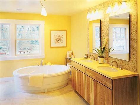 25 Cool Yellow Bathroom Design Ideas Residential Floor Plan Home Designers Rubbed Bronze Kitchen Faucet Master Suite Plans Victorian Split House With Sprayer And Soap Dispenser Separate Apartment
